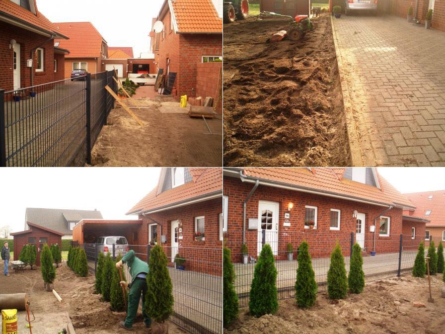 Gartenneugestaltung in Wilhelmshaven