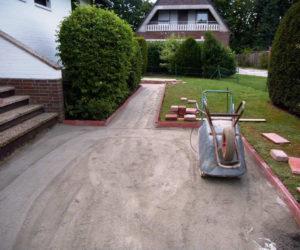 Wegebau / Pflasterarbeiten